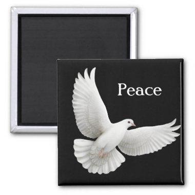 Peace Dove Magnet