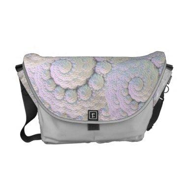 Pearly shells Rickshaw Messenger Bag