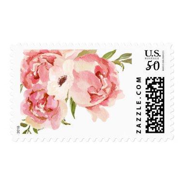 Peony Postage Stamp