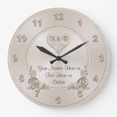 Personalized and Unique  Gifts CLOCK