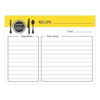 Personalized  Recipe