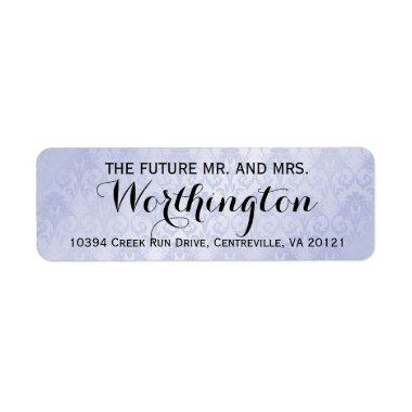 Personalized Custom Wedding Future Mr and Mrs Label