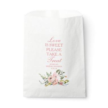 Personalized Favor Bags - Bridal Shower or Wedding