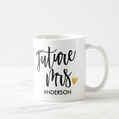 Personalized,Future Mrs.2 Coffee Mug
