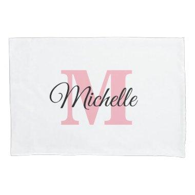 Personalized Monogram Custom Pillow Case