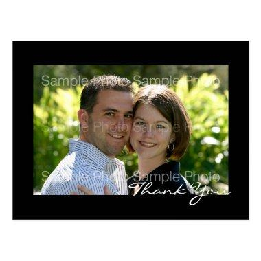 Personalized Photo Wedding Thank You PostInvitations