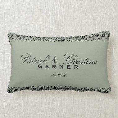 Personalized Wedding Cotton Pillow