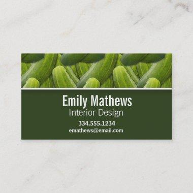 Pickles; Pickle Pattern Business Invitations