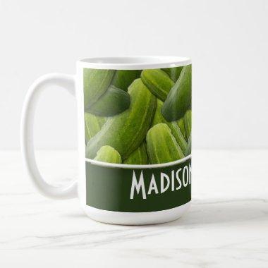 Pickles; Pickle Pattern Coffee Mug