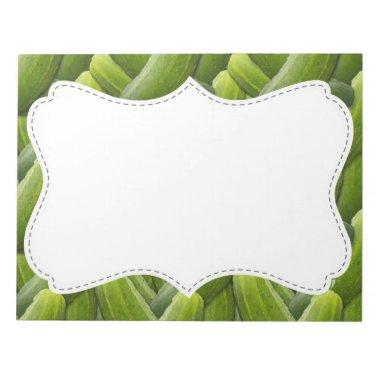 Pickles; Pickle Pattern Notepad
