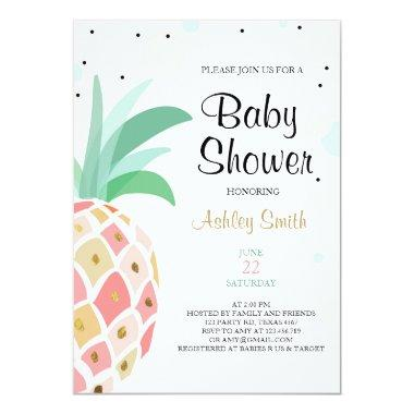 Pineapple Baby shower  Tropical Bridal