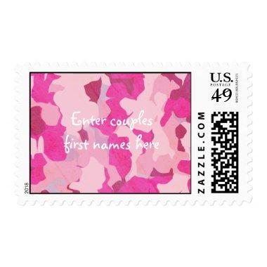 Pink Camo Custom Stamps