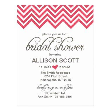 Pink Chevron  Post