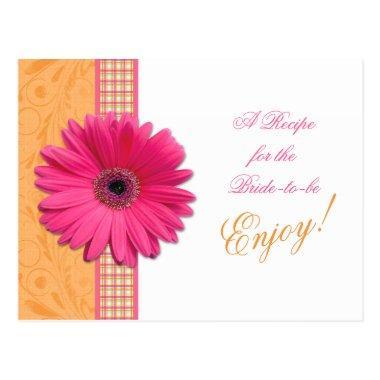 Pink Daisy Orange Bride Recipe