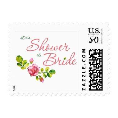 Pink Floral  Design Stamp