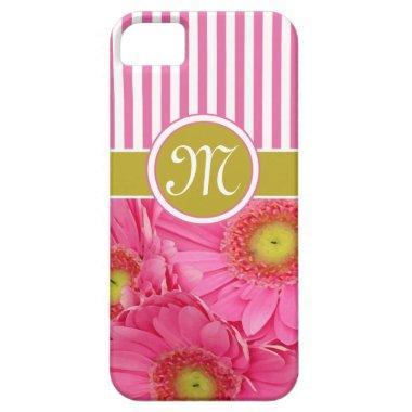 Pink Gerber Daisies iPhone SE/5/5s Case