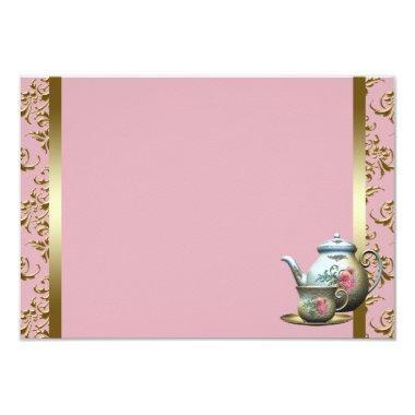 Pink Gold Damask Tea Cup Recipe