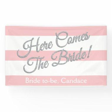 Pink, Here Comes The Bride,  Banner