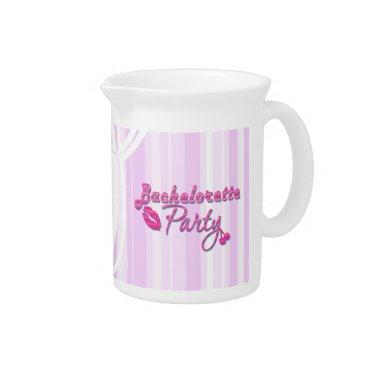pink lips bachelorette party gifts  pitcher