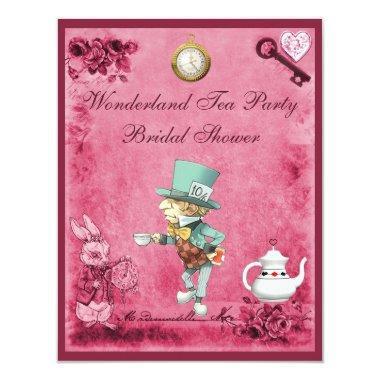 Pink Mad Hatter Wonderland Tea Party