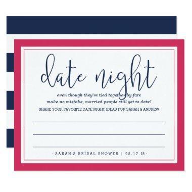Pink & Navy  Date Night