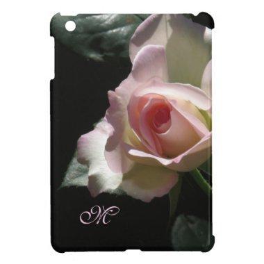 Pink Wedding Rose iPad Mini Cover