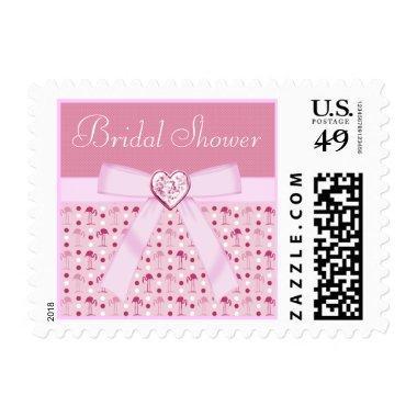 Pink Wonderland Flamingos  Stamps