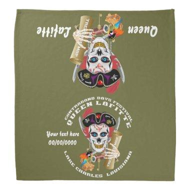 Pirate Queen Bandana Important View About Design
