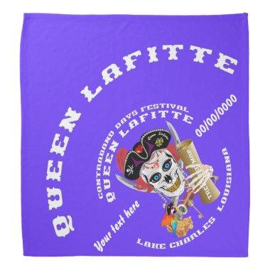 Pirate Queen Lafitte Important Read About Design Bandana
