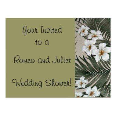 Plumeria-Palm-Cream.jpg, Romeo and Juliet , Wed... PostInvitations