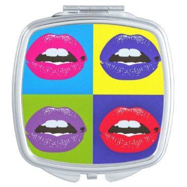 Pop Art Lips Mirror