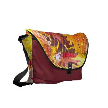 Pop Wizard Messenger Bag design by deprise brescia