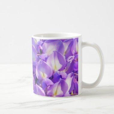 Pretty hanging Wisteria photo Coffee Mug