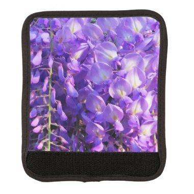 Pretty purple Wisteria flowers Luggage Handle Wrap