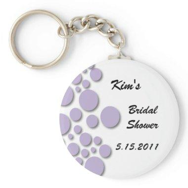 Purple Bubble  Key Chain