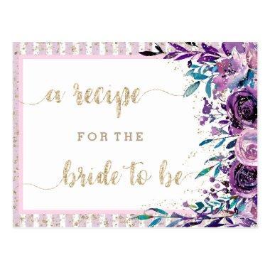 Purple Floral Champagne  Recipe