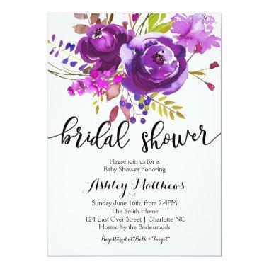 Purple Lavender Floral