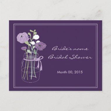 Purple Mason Jar  Advice
