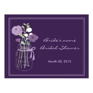 Purple Mason Jar  Advice Post