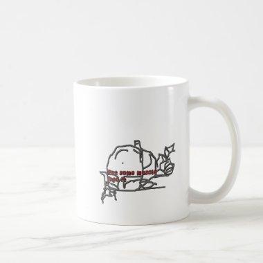 put some muscle coffee mug