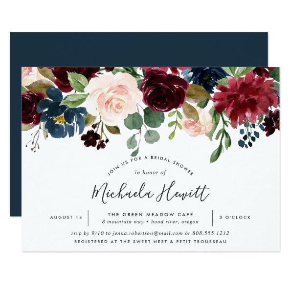 756d277f68869 Radiant Bloom Bridal Shower Invitations – Unique Bridal Shower