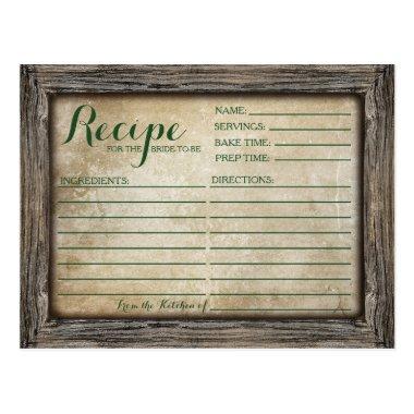 Recipe  | Rustic Calligraphy