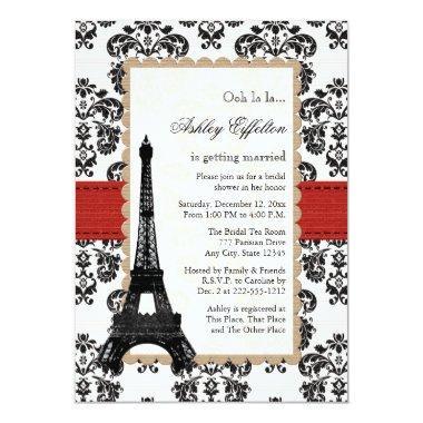 Red Eiffel Tower Parisian