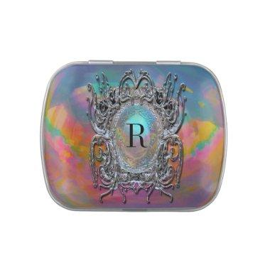 Regal Monogram Jelly Belly Candy Tin