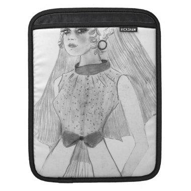 Retro Bride iPad Sleeve