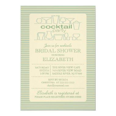 Retro Green Cocktail Party