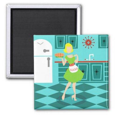 Retro Kitchen Magnet