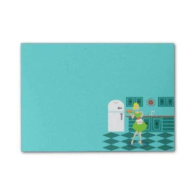 Retro Kitchen Post-It Notes