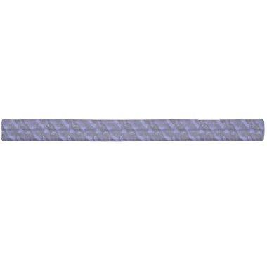 Rich Purple Satin Silk look fabric Elastic Hair Tie