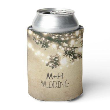 Romantic Can Cooler for Weddings